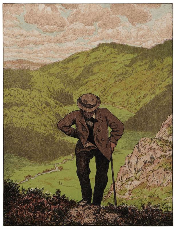 H. Thoma: Der Wanderer, 1906